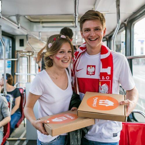 Apetyt na 1/4 finału rośnie – Tramwaj Kibica wraca do Warszawy i zagrzewa Orły Nawałki do walki!