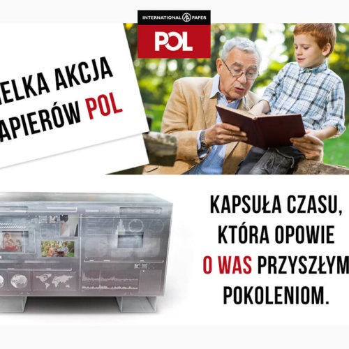 """Co pozostawimy po sobie przyszłym pokoleniom? Rusza akcja """"Wiadomości do przyszłości"""" zorganizowana przez markę Papiery POL."""