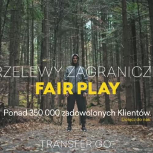 Gra Fair Play procentuje nie tylko w sporcie: nowa kampania TransferGo z Piotrem Żyłą