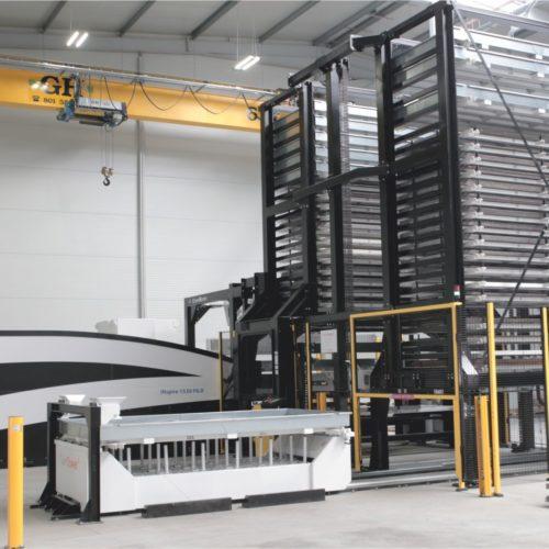 Wycinarki EAGLE i automatyzacja Baumalog to połączenie wydajności i precyzji cięcia blachy