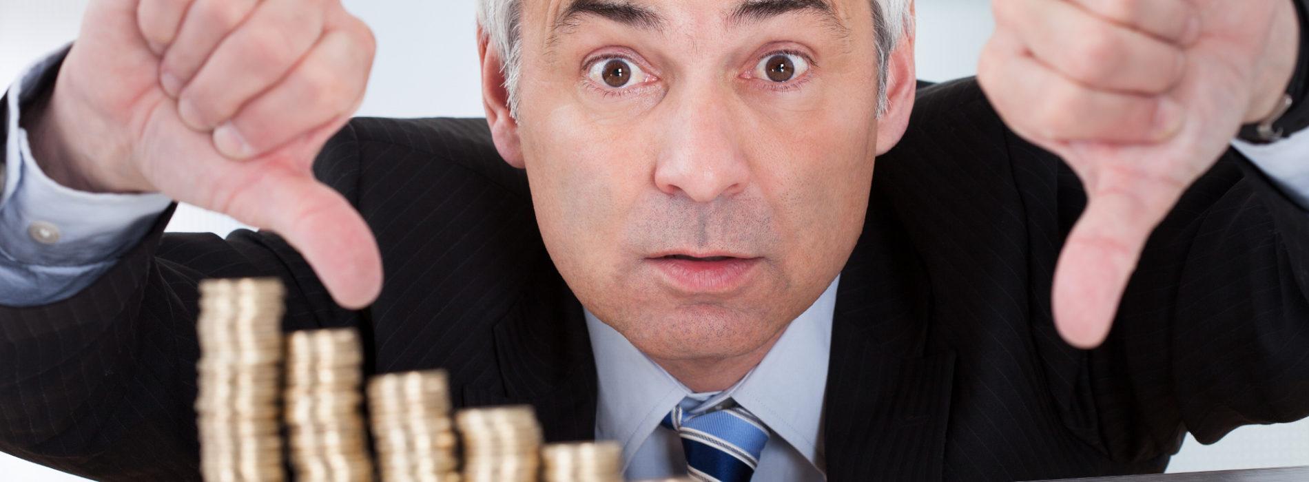 W tym roku 10 proc. więcej firm ogłosi bankructwo. To często indywidualny dramat dla przedsiębiorcy