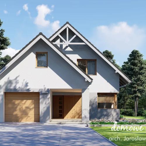 Dom z poddaszem użytkowym – wybór projektu i koszty budowy